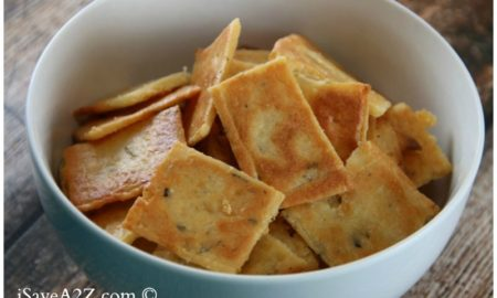 Keto Friendly Low Carb Cheese Crackers Recipe