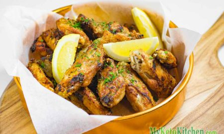 Low Carb Garlic Chicken Wings