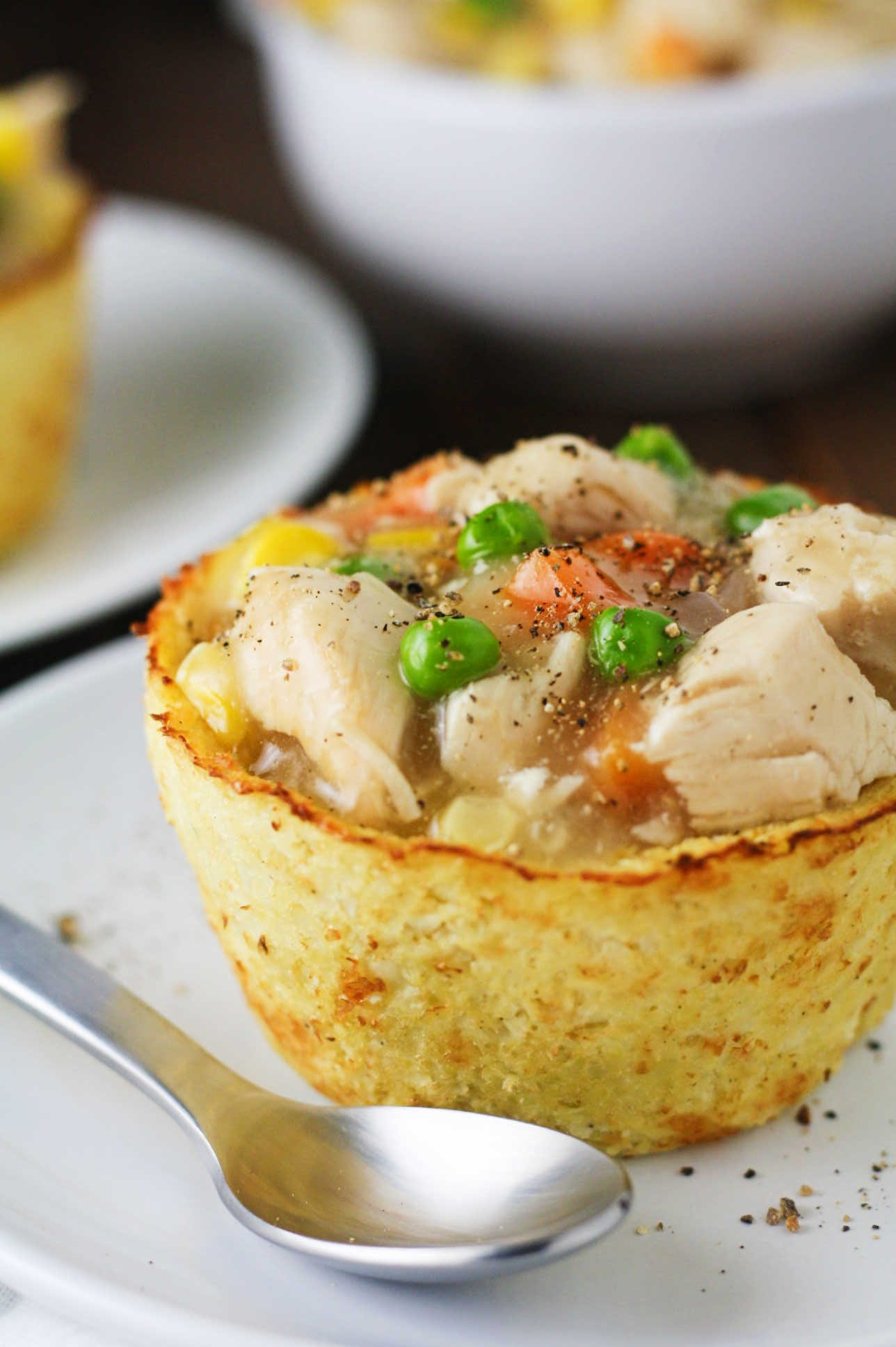low carb cauliflower pot pie recipe