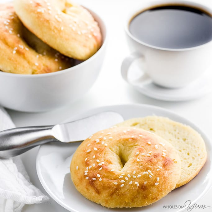 Low Carb Bagels with Almond FLour Recipe