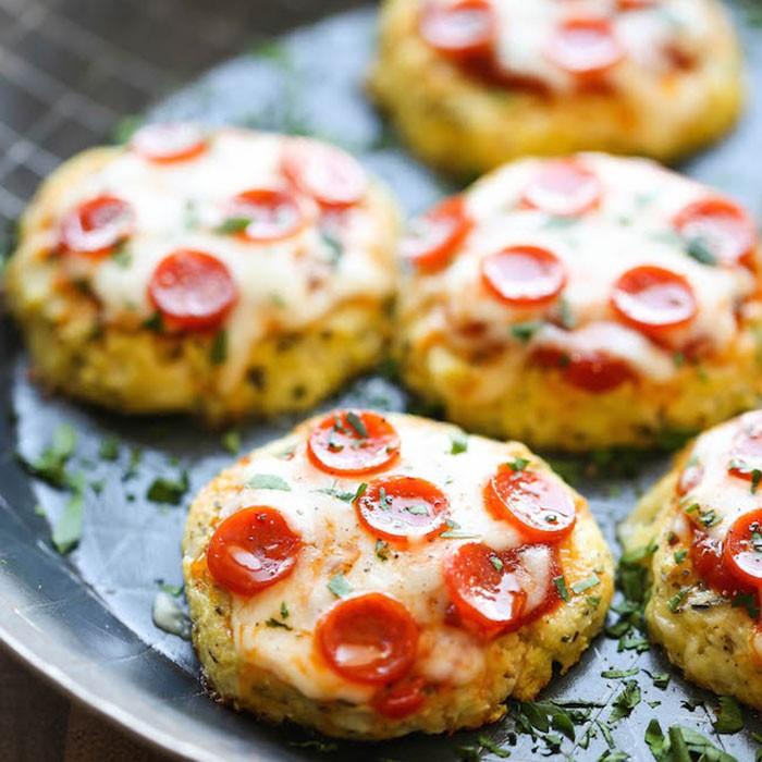 low carb cauliflower pizza